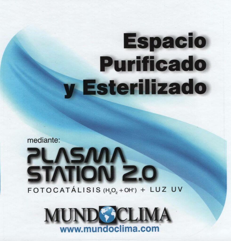 certificacion PLASMA STATION 2.0
